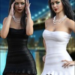 Night Dress For Genesis 3 by mytilus