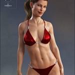 Classic Bikini for Genesis 8 Female(s)