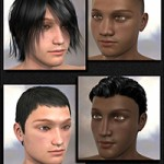 People of Earth: Faces of Asia Genesis 2 Male