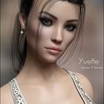 P3D Yvette for Genesis 8 Female