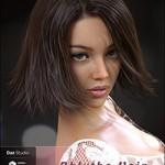 Bblythe Hair for Genesis 8 Female(s)