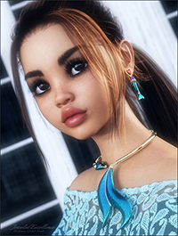 Jeweled Excellence Set 02 for Genesis 2, 3 and 8 Females