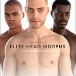 Shimuzu's Elite Head Morphs for Genesis 8 Male