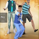 Z Boys Will Be Boys – Poses, Partials and Expressions for Genesis 3 and 8 Male