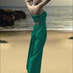 Dynamic Maxi Bra Top Dress
