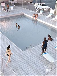 Public Outdoor Pool