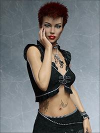 FWSA Rochelle HD for Genesis 8 Female