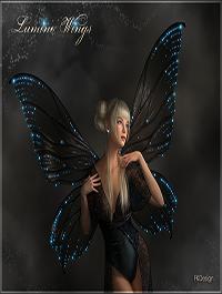 Lumino Wings for G3F & G8F by fabiana