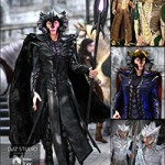 Rune Male Outfit Bundle for Genesis 3 Male(s) and Genesis 2 Male(s)