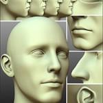 200 Plus – Head & Face Morphs for Genesis 3 Male(s)
