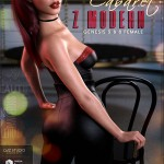 Z Modern Cabaret – Props and Poses for Genesis 3 and 8 Female