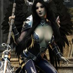 dForce Hellen Outfit and Weapons for Genesis 8 Female(s)