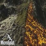 MicroSplat  Puddles, Streams, Lava & Wetness