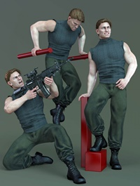 CDI Poses for Dain 8 and Genesis 8 Male