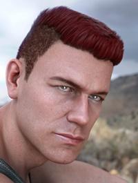 Derek Hair for Genesis 8 and Genesis 3 Male(s)