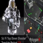 Sci Fi Top Down Game Template