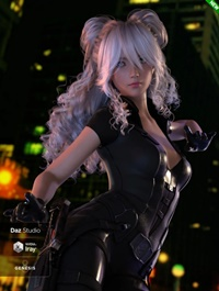 Bunny Hair for Genesis 3 and 8 Female(s)