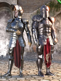 dForce Morphing Fantasy Armor Genesis 8 Male