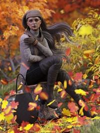 dForce Casual Autumn Outfit for Genesis 8 Female(s)