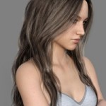 MRL dForce Long Layered Hair for Genesis 8 Female with Colour Mixing