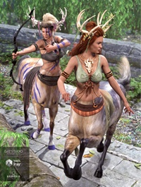 Centaur Grove Outfit Textures