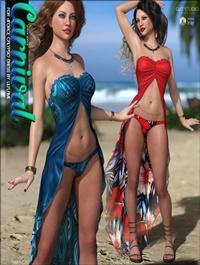 Carnival for dForce Calypso Dress G8F