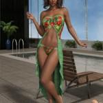 VERSUS dForce Calypso Dress for Genesis 8 Females