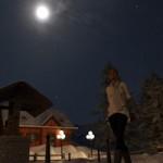 Orestes Iray HDRI Skydomes Winter Moon
