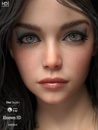 Rhonwen HD For Genesis 8 Female