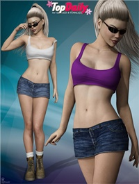 Top Daily Outfit Set for Genesis 8 Female(s)