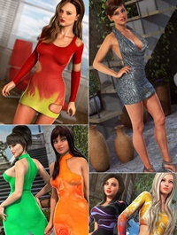 Genesis 2 Female Clubbing Bundle