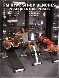 FM Gym: Sit Up Benches & Poses