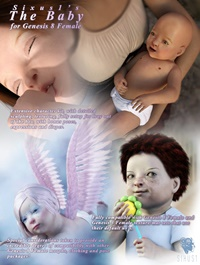 Sixus1 The Baby for Genesis 8 Female