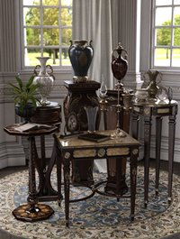 Vintage Stands and Tables