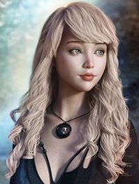 Blithe Hair for Genesis 3 & 8 Female(s)