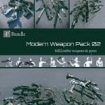 KillZombie Modern Weapon Pack Bundle 02