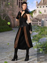 dForce Greenborough Adventure Outfit for Genesis 8 Female(s)