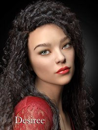 Desiree HD for Genesis 3 and 8 Female