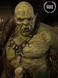 Orc HD for Genesis 8 Male