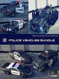 Police Vehicles Bundle