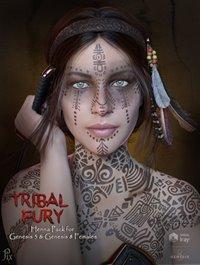 00-main-tribal-fury-henna-for-genesis-3-and-8-with-bonus-character-daz3d