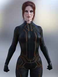 X-Fashion Falcon Outfit for Genesis 8 Female(s)