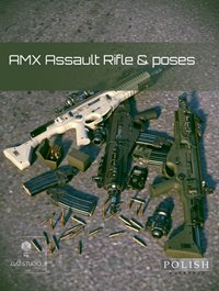 AMX Assault Rifle and Poses