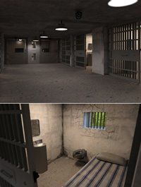 Empty Detention Cell