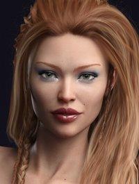 Farrah HD for Genesis 8 Female