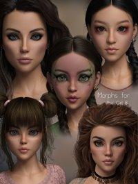 P3D The Girl 8 Enhanced Morphs Pack